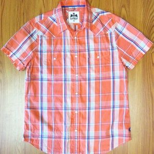 Sz L- EXPRESS REGULAR FIT Mens WESTERN SHIRT